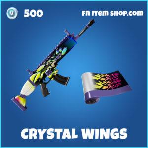 Crystal Wings Fortnite Wrap