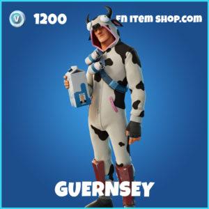Guernsey Fortnite Skin