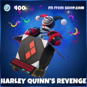 Harley Quinn's Revenge Fortnite Back Bling