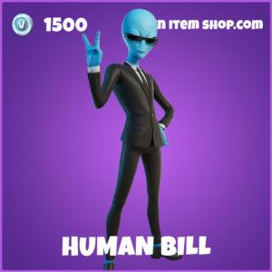 Human bill fortnite skin