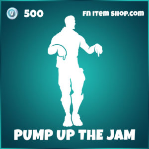 Pump Up The Jam Fortnite Emote