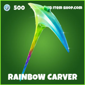 Rainbow Carver Fortnite Harvesting Tool
