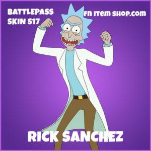 Rick Sanchez Rich & Morty Fortnite Skin