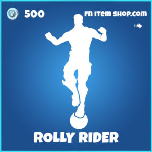 Rolly Rider Fortnite Emote