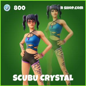 Scuba Crystal Fortnite Skin