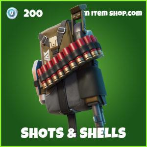 Shots & Shells Fortnite Backpack