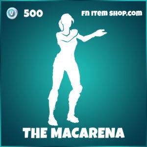 The Macarena Fortnite Emote