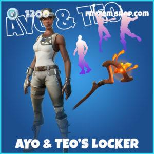 Ayo & Teo's Locker Fortnite Bundle