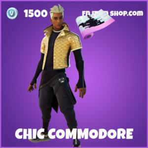 Chic Commodore Fortnite Skin