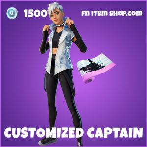 Customized Captain Fortnite Skin