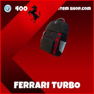 Ferrari Turbo Fortnite Backpack