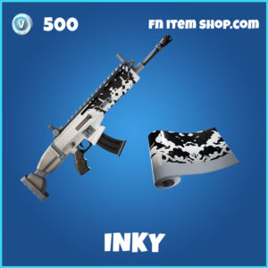 Inky Fortnite Wrap