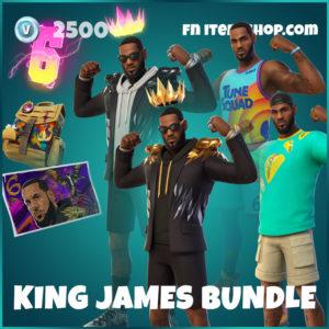 King James Bundle Fortnite Pack