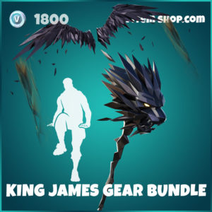 King James Gear Bundle LeBron Fortnite Pack