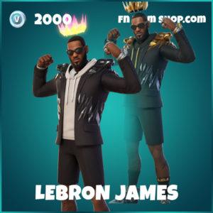 LeBron James Skin in Fortnite