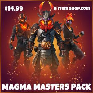 Magma Masters Pack Fortnite Bundle
