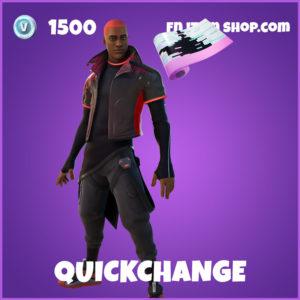 Quickchange Fortnite Skin