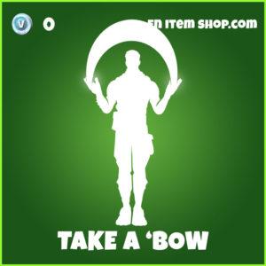 Take A 'Bow Fortnite Emote
