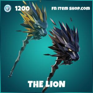 The Lion LeBron James Harvesting Tool in Fortnite