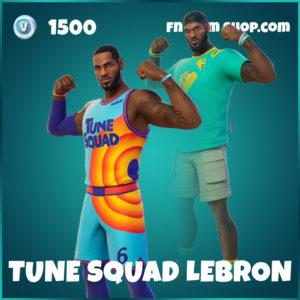 Tune Squad LeBron Fortnite Skin
