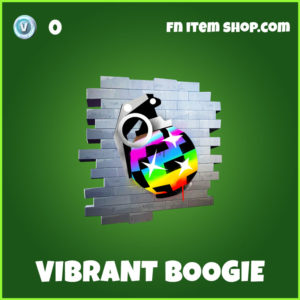 Vibrant Boogie Fortnite Spray