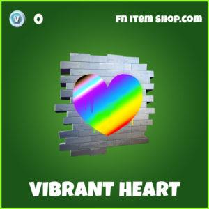 Vibrant Heart Fortnite Spray