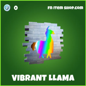 Vibrant Llama Fortnite Spray