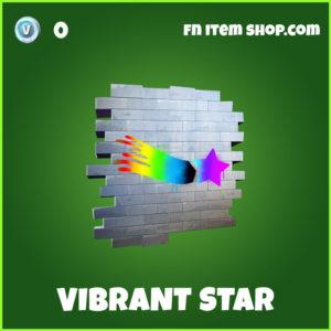 Vibrant Star Fortnite Spray