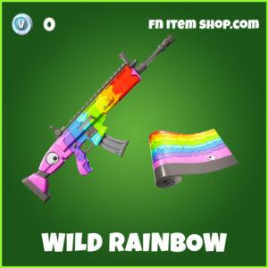 Wild Rainbow Fortnite Wrap