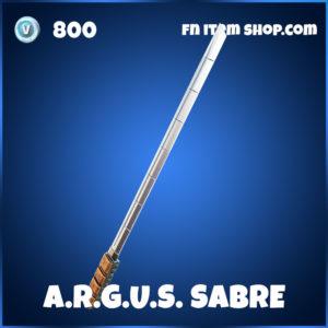 A.R.G.U.S. Sabre Sabre Fortnite Harvesting Tool