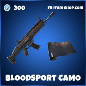 Bloodsport Fortnite Camo