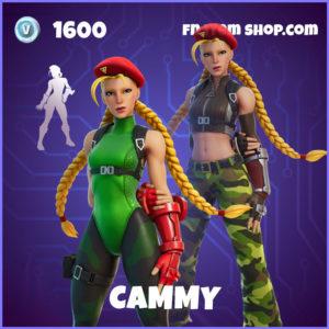 Cammy Street Fighter Fortnite Skin