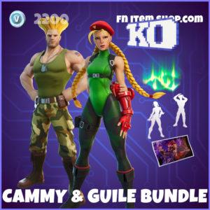 Cammy & Guile Fortnite Bundle Street Fighter