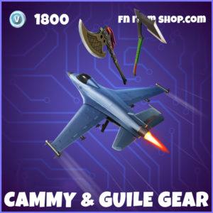 Cammy & Guile Gear Fortnite Street Fighter Bundle