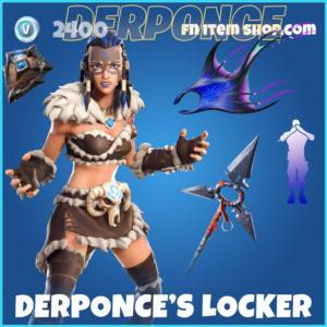 Derponce's Locker Fortnite BUndle