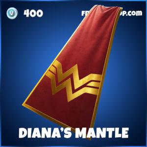 Diana's Mantle Fortnite Back Bling