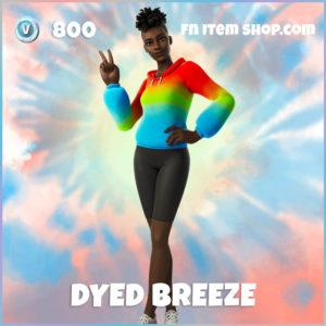 Dyed Breeze Fortnite Skin