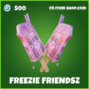 Freezie Friendz Fortnite back bling