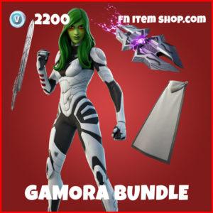 Gamora Bundle Fortnite Skin Marvel