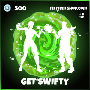 Get Swifty Morty Fortnite Emote