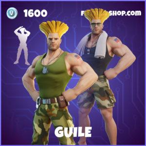 Guile Fortnite Street Fighter Skin