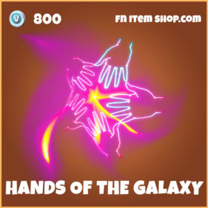 Hands of the Galaxy Fortnite Back Bling