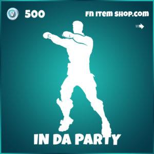 In Da Party Fortnite Emote