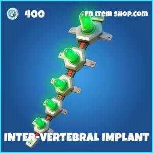 Inter-Vertebral Implant Fortnite Backpack
