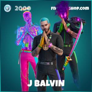 J Balvin Fortnite Skin