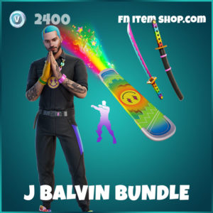 J Balvin Fortnite Bundle