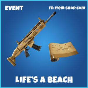 Life's A Beach Fortnite Wrap