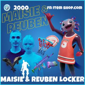 Maisie Williams & Reuben Selby's Locker Fortnite Bundle