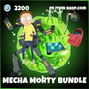 Mecha Morty Fortnite Bundle