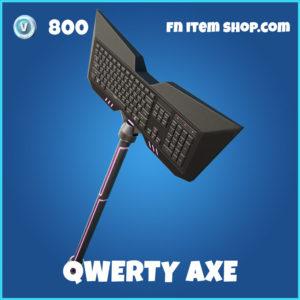 Qwerty Axe Fortnite Harvesting Tool